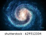 galaxy in space  beauty of... | Shutterstock . vector #629512334