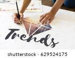 trends diamond fashion new word   Shutterstock . vector #629524175