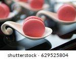 pink macaroon | Shutterstock . vector #629525804