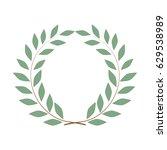 laurel wreath reward. modern... | Shutterstock .eps vector #629538989