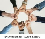 togetherness team alliance... | Shutterstock . vector #629552897