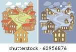 stylized vector illustrations... | Shutterstock .eps vector #62956876