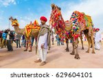 bikaner  india  14th january... | Shutterstock . vector #629604101