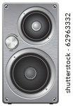 Aluminium Two Way Audio Speake...