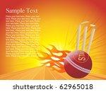 vector  illustration of fire... | Shutterstock .eps vector #62965018