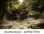 scenery of anduk valley in jeju ... | Shutterstock . vector #629667554
