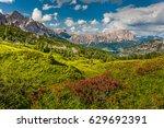 dolomite | Shutterstock . vector #629692391