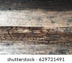 wood texture background old log.... | Shutterstock . vector #629721491