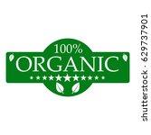 eco food  organic bio product... | Shutterstock .eps vector #629737901