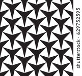black and white geometric... | Shutterstock .eps vector #629752595