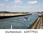 The River Arun On An Incoming...