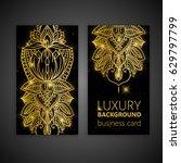 vintage decorative elements.... | Shutterstock .eps vector #629797799