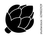 artichoke icon | Shutterstock .eps vector #629802929
