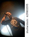 Small photo of Protzen, Brandenburg / GERMANY June 24, 2016: Postmortem, Death Metal / Thrash Metal band Germany, giving a concert in Protzen (Germany) Protzen Open Air.