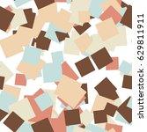 abstract seamless pattern art... | Shutterstock . vector #629811911