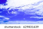 the blue sky | Shutterstock . vector #629831639
