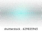 light blue  green vector... | Shutterstock .eps vector #629835965