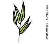 leaf natural ecology | Shutterstock .eps vector #629836169