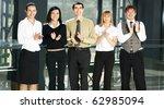 portrait of business people in...   Shutterstock . vector #62985094