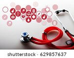 healthcare and medicine. | Shutterstock . vector #629857637