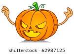 illustration of a jack o... | Shutterstock .eps vector #62987125