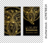 vintage decorative elements.... | Shutterstock .eps vector #629878814