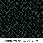 antique seamless background... | Shutterstock .eps vector #629917625
