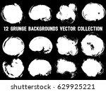 12 Grunge Backgrounds White On...