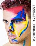 portrait of young attractive... | Shutterstock . vector #629940017