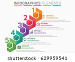 infographics element abstract... | Shutterstock .eps vector #629959541