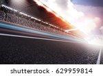track arena 3d rendering | Shutterstock . vector #629959814