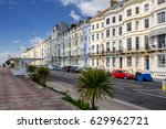 Small photo of The Grand Parade in Hastings in Sussex on the south coast of England