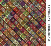 colorful vintage seamless...   Shutterstock .eps vector #629986151