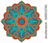 mandala vector illustration....   Shutterstock .eps vector #630013781