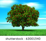 Tree With Apple Fruits  Surrea...