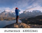 photographer in a national park ... | Shutterstock . vector #630022661