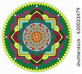 mandala vector illustration....   Shutterstock .eps vector #630033479