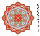 mandala vector illustration....   Shutterstock .eps vector #630033485