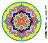 mandala vector illustration....   Shutterstock .eps vector #630033491
