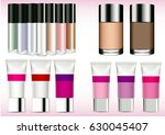 vector set of creams and...
