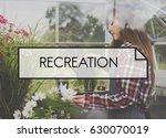 recreation leisure activity... | Shutterstock . vector #630070019
