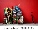 Small photo of Instruments used for the party of Folia de Reis, traditional Brazilian party.