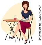 vector illustration of a... | Shutterstock .eps vector #630076934