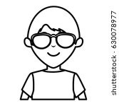 young father avatar character | Shutterstock .eps vector #630078977