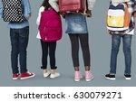 group of children with backpack | Shutterstock . vector #630079271