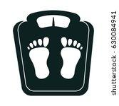 balance bathroom isolated icon | Shutterstock .eps vector #630084941