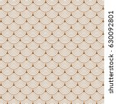 vector pattern  repeating... | Shutterstock .eps vector #630092801