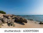 boca catalina beach  aruba | Shutterstock . vector #630095084