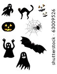 collection of images to...   Shutterstock .eps vector #63009526