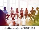 group of diversity people... | Shutterstock . vector #630105134
